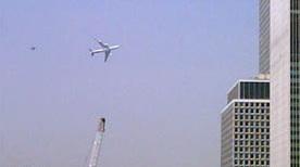 Самолет над Нью Йорком