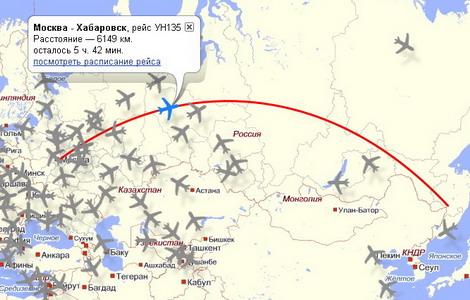 Самолеты Яндекса