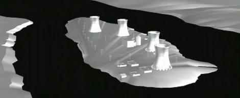 """3D-модель """"Острова"""""""